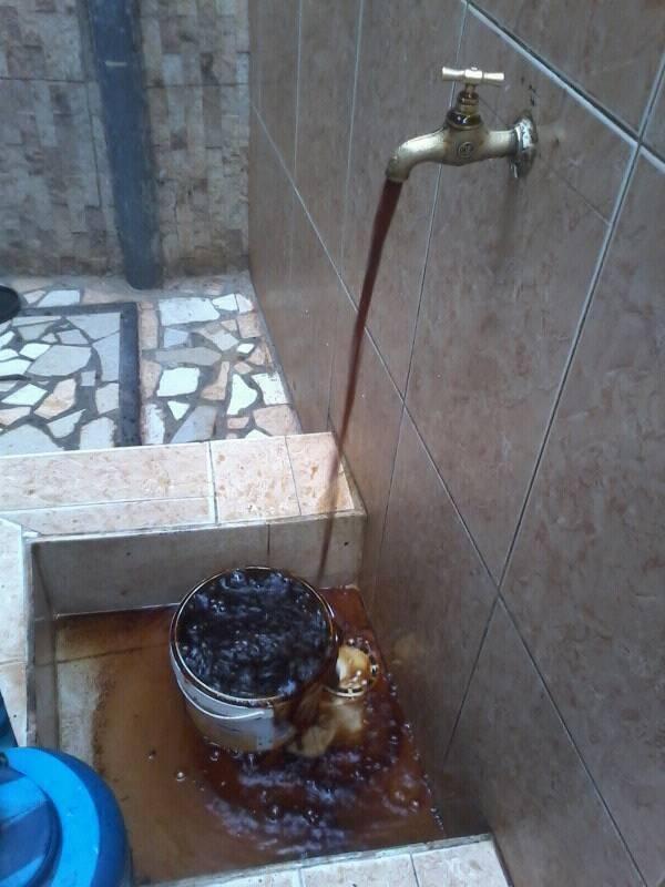 Eau du robinet à Mbour - photo Serigne Sarr