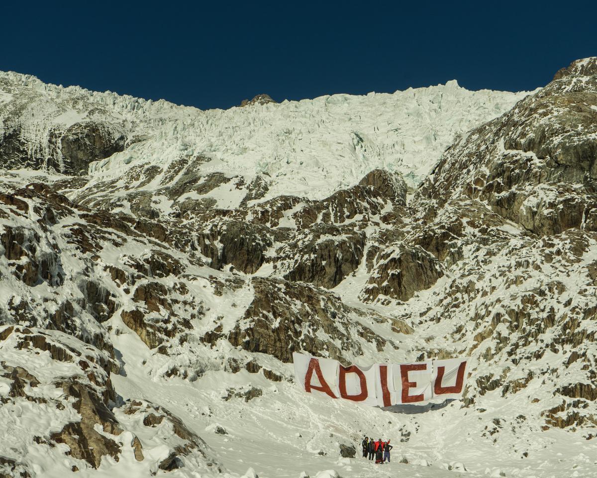 Glacier dans les Hautes-Alpes