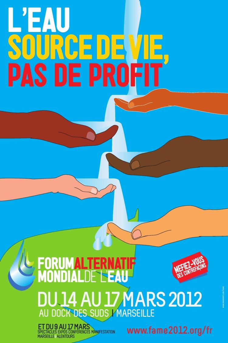 manifesto Forum Alternativo Acqua Marsiglia