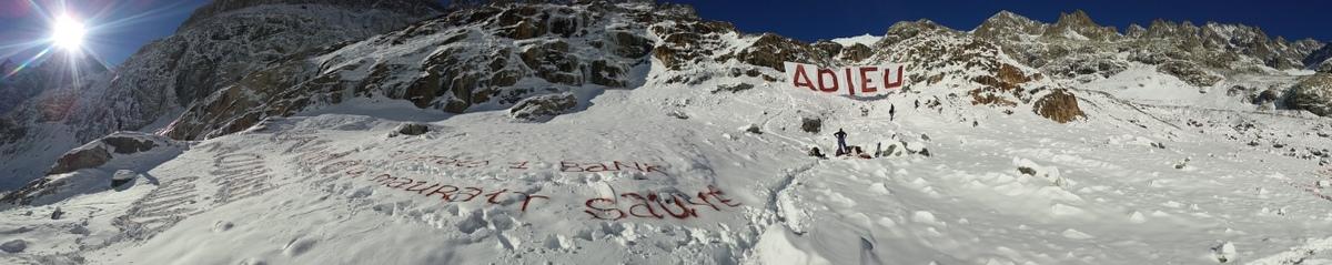 Adieu au Glacier